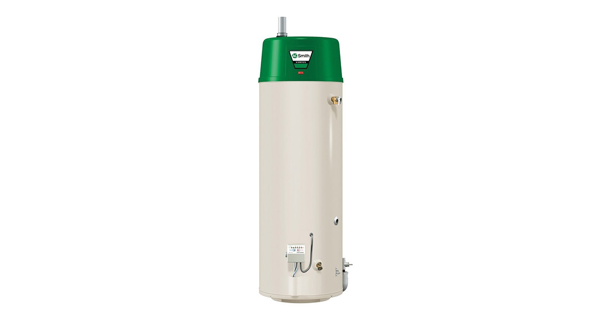 AO Smith Vertex GPHE-50 Natural Gas Water Heater | Reviewed