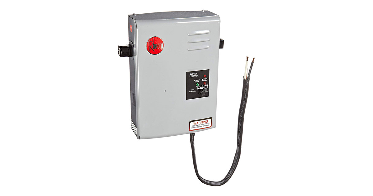 Rheem RTE 13 Electric Tankless Water Heater image