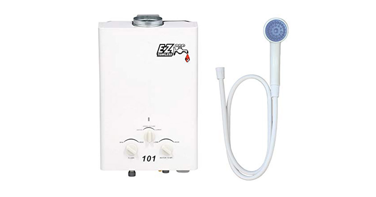 EZ-101 Tankless Propane Portable Water Heater image