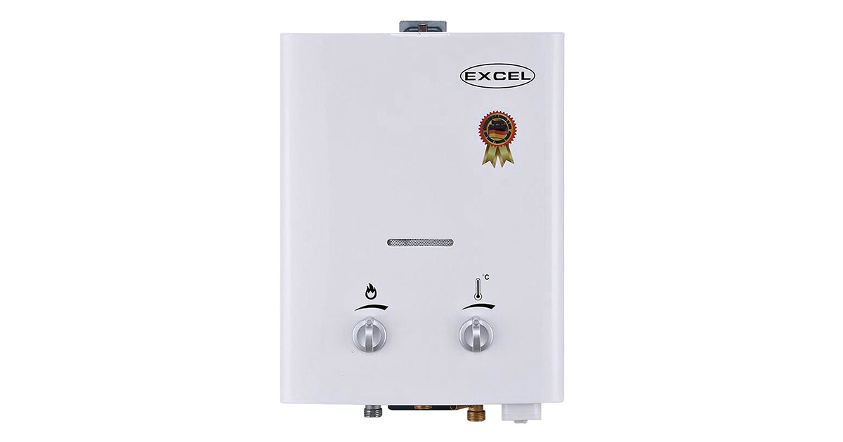 Excel 10016 VENTFREE PROPANE TANKLESS LPG GAS WATER HEATER image