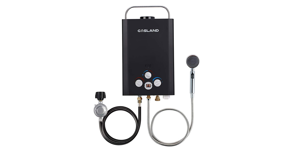 Gasland BE158B Tankless Instant Propane Outdoor Portable Gas Water Heater image