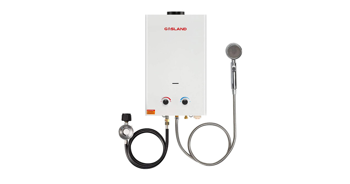 Gasland BS264 Tankless Portable Outdoor Propane Water Heater image