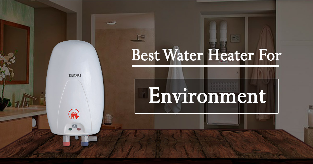 Best Water Heater for Environment image