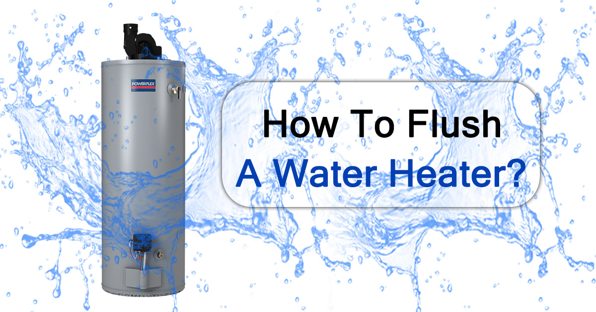 How to Flush a Water Heater image