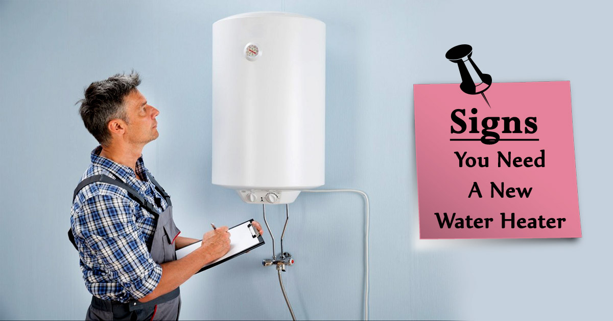 Signs you need a New Water Heater image