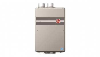 Rheem RTGH95DVN Condensing Indoor Tankless Water Heater – Compact enough to save your space!